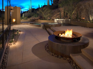Beautiful Decorative Concrete in Tucson, Arizona